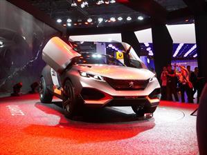 Peugeot Quartz Concept, un crossover híbrido de casi 500 hp