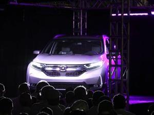 Honda inicia la producción del CR-V 2017