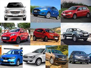 Top 10 los autos más vendidos en junio de 2015