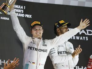 F1 GP de Abu Dhabi 2016: Rosberg es el nuevo rey