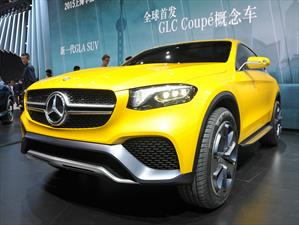 Mercedes-Benz GLC Coupé Concept, el SUV rival del BMW X4