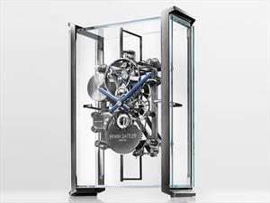 Un exclusivo reloj de mesa de Audi Design