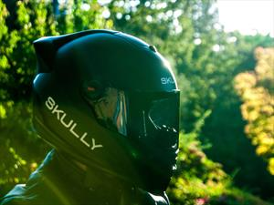 Skully P-1 es un casco que funciona como el Google Glass
