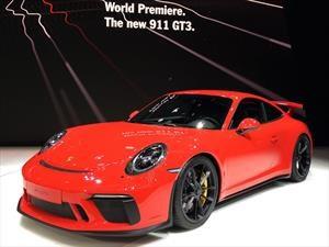 Porsche 911 GT3 2018 ¡más purista que nunca!