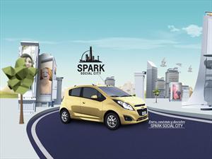 """Chevrolet presenta """"Spark Social City"""" en México"""