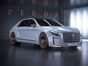 Scaldarsi Emperor I,Mercedes-Maybach S 600 de mal gusto
