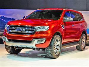 Ford Everest: La Ranger versión SUV debuta en Sao Paulo