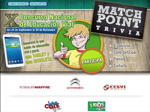 "Citroën te invita a participar del concurso ""Match Point Trivia"""
