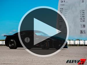 Video: Nissan GT-R modificado con más de 2,000 Hp recorre el ¼ milla en 7.70 segundos