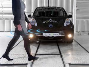 Nissan presenta un sistema de alerta auditiva para peatones en sus autos eléctricos