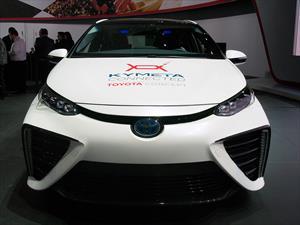 Toyota Mirai, con tecnología satelital