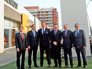 Comitiva de Renault Group visita fábrica Cormecanica en los Andes