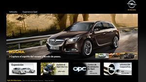 Opel Chile lanza sitio web