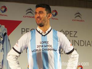 """Pechito López en Argentina: """"Fué el mejor campeonato de toda mi carrera deportiva"""""""