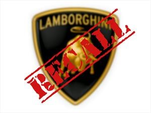 ¿Recall de Lamborghini? Sí, 5,900 unidades del Aventador