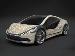 EDAG Light Cocoon Concept, con carrocería traslúcida