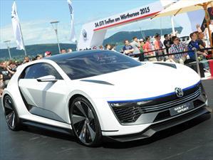 VW Golf GTE Sport Concept, el hot hatch del futuro