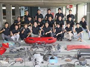 Mazda restaurará los MX-5 de primera generación