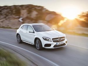 Mercedes-Benz GLA 2018, más lujo y potencia