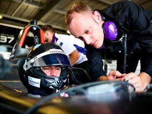 Pechito López se luce en las pruebas de la Fórmula E
