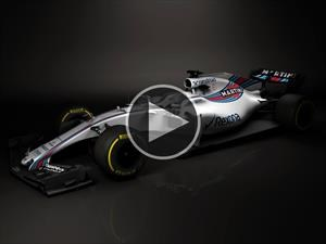 Williams FW40 el primer F1 2017
