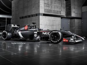 F1: Sauber C33,  el auto de Esteban Gutiérrez para 2014