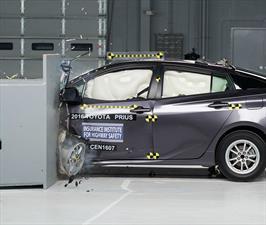 Toyota Prius 2016 obtiene el Top Safety Pick+ del IIHS