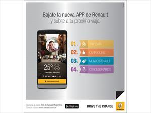 Renault Argentina te ayuda a compartir el auto desde el celular