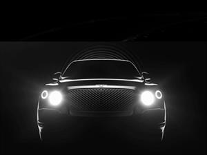 Bentley nos empieza a mostrar su nuevo SUV