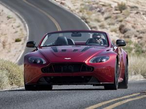 Aston Martin V12 Vantage S Roadster, velocidad a cielo abierto