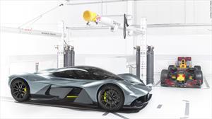 Así es el nuevo súper auto de Aston Martin y Red Bull