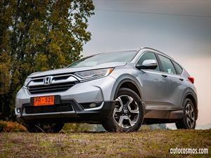 Honda CR-V 2018 debuta en Chile evolucionada y turbocargada