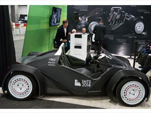 Local Motors presenta el primer auto hecho con una impresora 3D