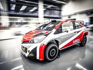 WRC: Toyota vuelve al rally en el 2017 con el Yaris