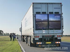 Samsung Safety Truck: Invento argentino para el mundo