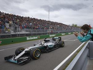 F1: Mercedes-Benz gana en Canadá 2016