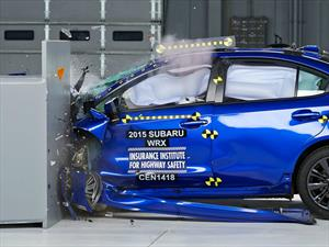 Subaru WRX 2016 obtiene el Top Safety Pick+ del IIHS
