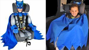 Si los lleva Batman, tus hijos viajan más seguros
