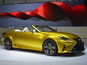 Lexus LF-C2 Concept, un roadster espectacular