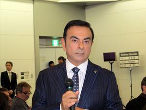 Carlos Ghosn se muestra escéptico sobre los autos de hidrógeno, lo entrevistamos
