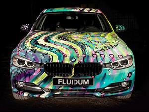 BMW 3 Series F30 Art Car por Andy Reiben