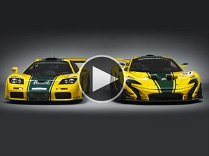 Video: McLaren F1 GTR Vs. P1 GTR,  padre contra hijo