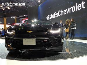 Chevrolet Camaro SS se lanza en Argentina