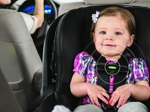 Asiento de Evenflo emite alerta cuando un niño es dejado encerrado en el auto