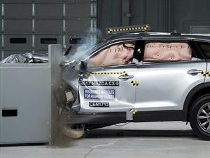 Mazda CX-9 2017 obtiene el Top Safety Pick + del IIHS