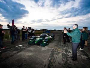 Drayson Racing EV bate récord de velocidad para un monoplaza eléctrico