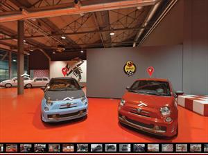 Google Street View y FIAT nos llevan a la fábrica de Abarth