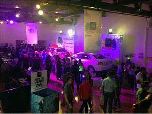 Toyota Yaris 2014 presente en el Gap Color Fest