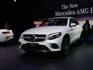 Mercedes-Benz GLC Coupé, el competidor del BMW X4