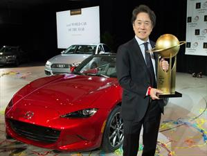 Mazda MX-5 es nombrado World Car of the Year 2016